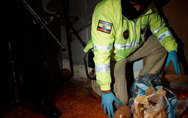 """El caso """"Tío Leo"""" corresponde a un ciudadano que presuntamente se abastece cada semana de por lo menos 15 kilos de sustancias estupefacientes. Foto: Fiscalía"""