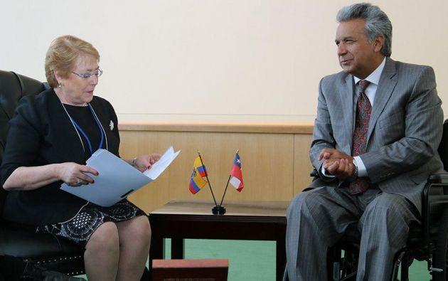 Entre los resultados concretos del encuentro se acordó realizar gabinetes binacionales. Foto: Presidencia
