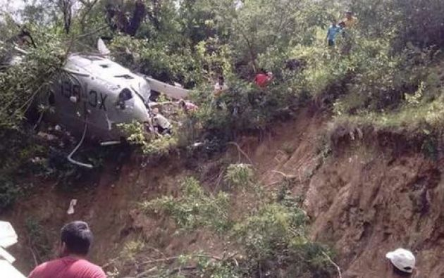 El accidente se produjo en el municipio serrano de San Carlos Yautepec. Foto: Milenio