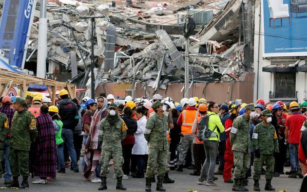 El movimiento telúrico se registró a las 07.53 hora local (12.53 GMT) y su epicentro se localizó 12 kilómetros al norte de Ciudad Ixtepec. Foto: Reuters