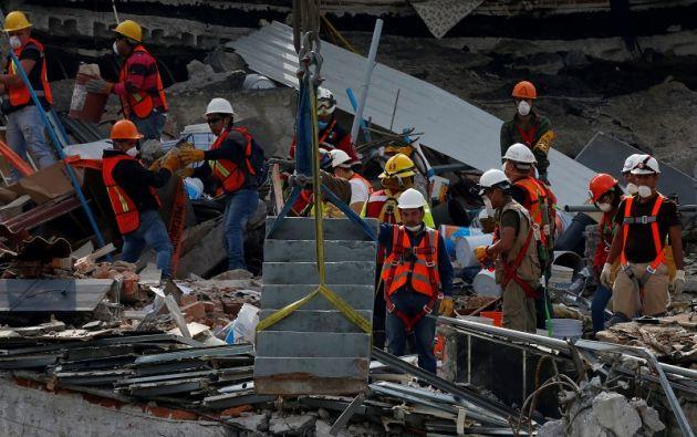 De los 7.649 inmuebles verificados, el 87 % han sido declarados sin riesgo. Foto: Reuters