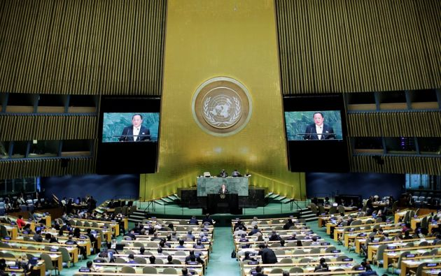En la ONU también tuvo oportunidad de defenderse Corea del Norte, por medio de su ministro de Exteriores, Ri Yong Ho. Foto: Reuters