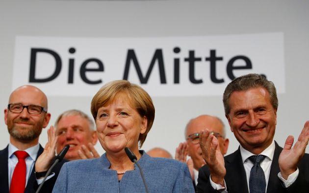 Con alrededor del 33% de los votos recabados, la CDU-CSU podría haber registrado el resultado más bajo hasta ahora logrado por Merkel. Foto: Reuters