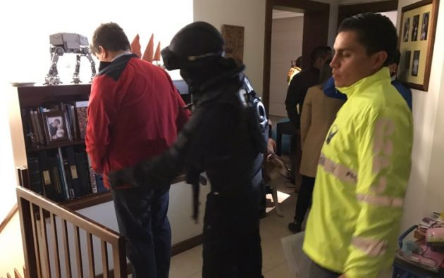 Esteban P. y Yerko B. fueron detenidos la madrugada del 22 de septiembre de 2017, en un operativo realizado por la Fiscalía. Foto: Fiscalía