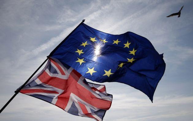 """La primera ministra británica abogó en favor de un Brexit """"soft"""" con un período de transición de dos años. Foto: AFP"""