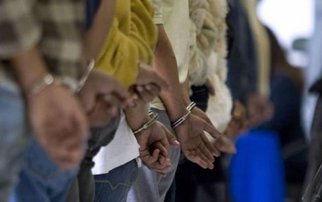 Las autoridades atribuyen a los detenidos 22 homicidios en los municipios de Segovia y Remedios en los últimos dos años. Foto referencial