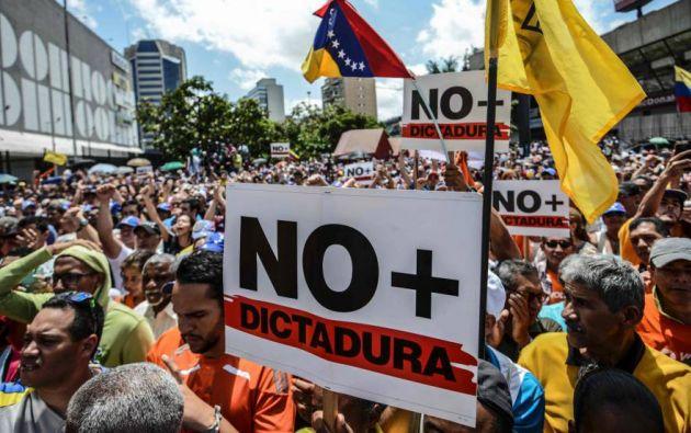 La oposición apuesta al triunfo con candidatos únicos que se enfrentarán a los postulantes oficialistas. Foto: AFP