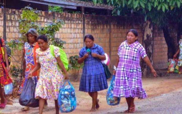 Los Warao figuran entre los cerca de 30.000 venezolanos que se calcula que han ingresado en los últimos meses a Brasil. Foto: Internet