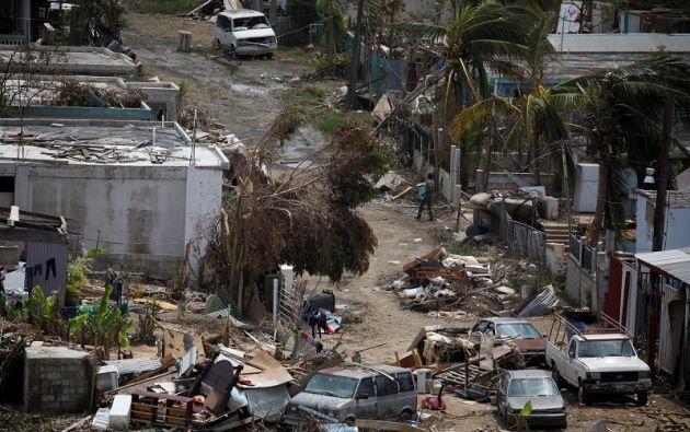 Donald Trump irá el martes a Puerto Rico en un intento por acallar las críticas sobre la lentitud de la ayuda. Foto: Reuters