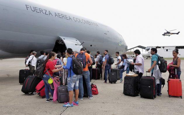 La cancillería activó el protocolo de retorno asistido para los estudiantes ecuatorianos afectados. Foto: Tu Semanario