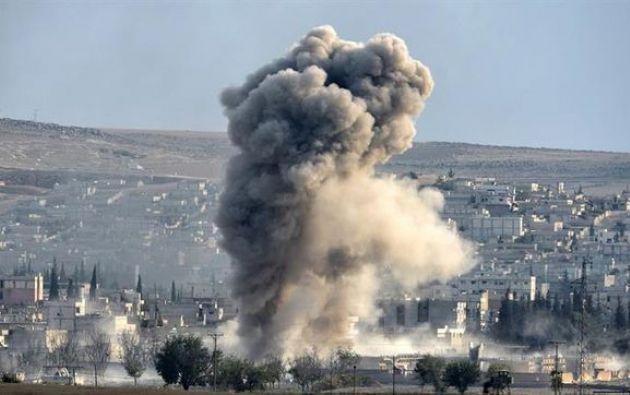 La coalición ha llevado a cabo 26.026 ataques, que han dado lugar a un total de 1.250 informes sobre posibles víctimas civiles. Foto: El Diario