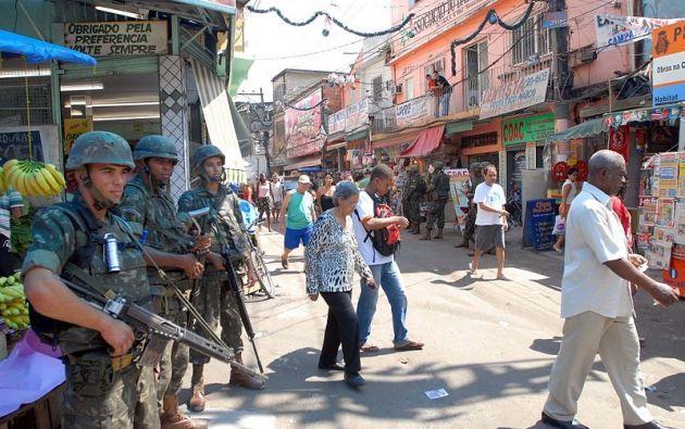 Al cabo de una semana, las autoridades capturaron 24 sospechosos, incautaron 25 fusiles, 15 granadas y algunas bombas caseras. Foto: Internet