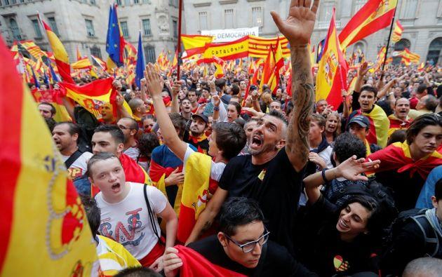 """Hoy día, y por miedo a que se materialice una secesión, """"la mayoría de los españoles están en contra del referéndum"""", el 75%, según los sondeos. Foto: Reuters"""