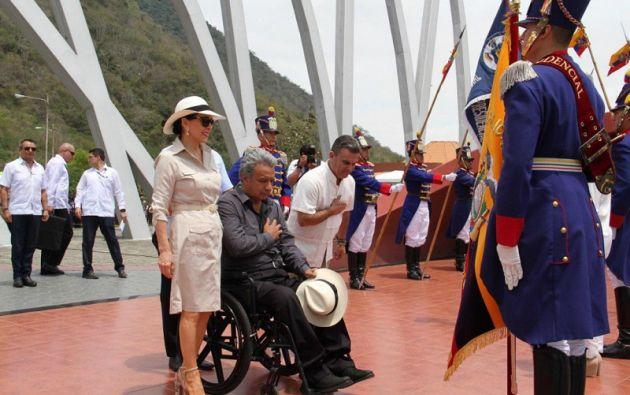 """""""El dueño del poder es el pueblo, nosotros únicamente somos mandatarios, debemos hacer lo que el pueblo quiere"""", dijo Moreno. Foto: Presidencia"""