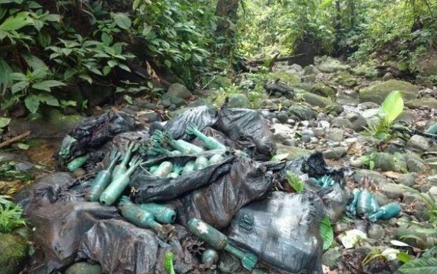 Uno de los escondites fue hallado por integrantes de la Fuerza de Tarea Pegaso en el caserío Tasdán. Foto: Referencial