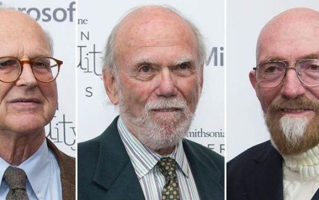 Weiss, Barish y Thorne fueron galardonados hoy con el Nobel de Física por su decisiva contribución. Foto: Nueva Prensa