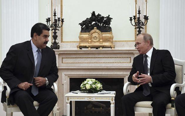 Rusia prestó en 2011 a Venezuela 2.800 millones de dólares para financiar la compra de armamento ruso, en especial tanques y misiles. Foto: Reuters