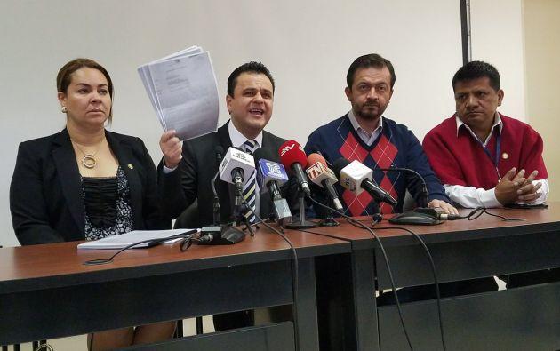 Bernal indica que no se han valorado las pruebas presentadas que evidencian la injerencia en la justicia. Foto: Twitter Bernal