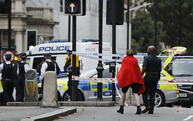 La Policía evacúa el Museo de Historia de Londres tras atropello de peatones. Foto: AFP