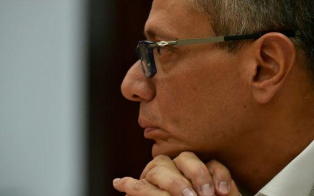 Hace una semana, la corte ordenó la prisión preventiva de Glas, tras considerar justificada una petición de la Fiscalía General del Estado. Foto: AFP