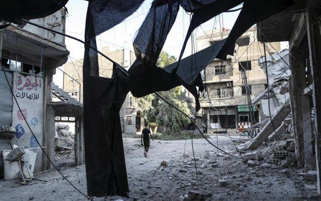 """Según la fuente, las unidades castrenses mataron a un """"gran número de terroristas del Dáesh (acrónimo en árabe de Estado Islámico) y destruyeron sus armas y municiones""""."""