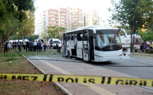 La explosión ocurrió en el centro de la urbe, adonde acudieron varios equipos de socorristas. Foto: Reuters