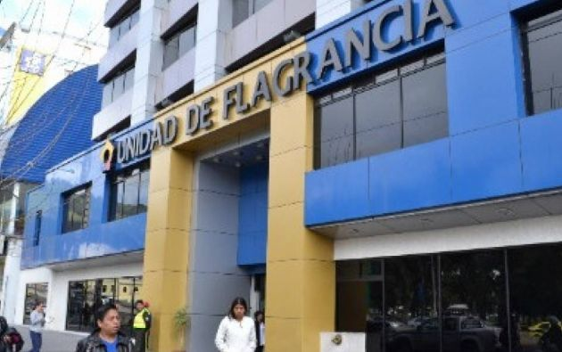 La sede evacuada se encuentra en las calles Patria y Nueve de octubre, frente al popular parque El Ejido. Foto: Internet