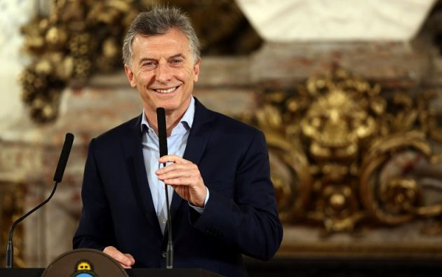 """""""Les aseguro que cuanto más votos recibamos más me voy a preocupar de reflexionar"""", dijo Macri. Foto: Reuters"""