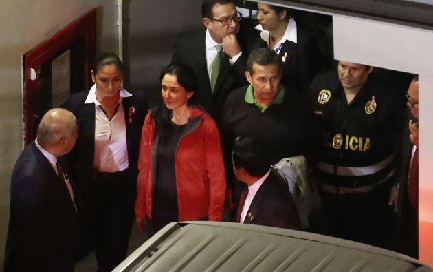 Humala y Heredia han superado un tercio de los 18 meses de prisión preventiva impuestos. Foto: archivo