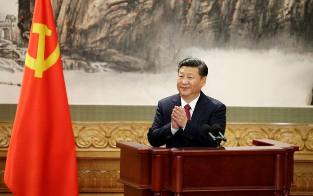 """""""Asumo [mi reelección] no solo como una aprobación de mi trabajo sino también como un estímulo para seguir avanzando"""", declaró Xi Jinping. Foto: Reuters"""