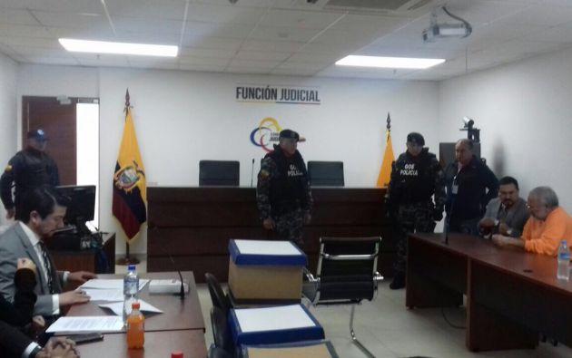 Para Pareja Yannuzzelli se trata de la segunda condena que recibe por el caso Petroecuador. Foto: Fiscalía
