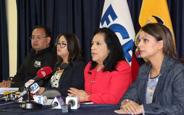 Hugo Pérez, fiscal de turno que formuló cargos, informó que la Fiscalía realizó pericias toxicológicas a las bebidas alcohólicas decomisadas. Foto: Fiscalía