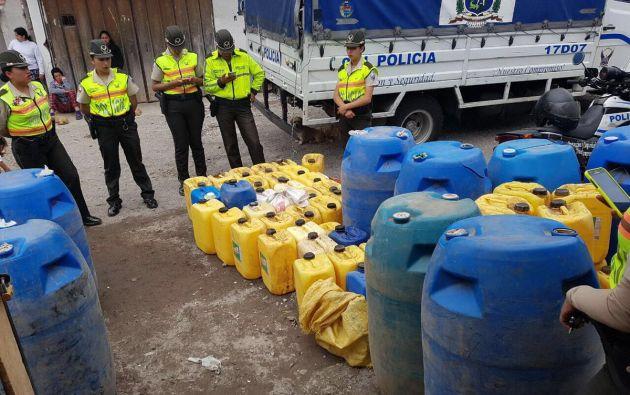 Según datos del ministerio del Interior y de la Policía Nacional, hay 5 ciudadanos detenidos para investigaciones por este caso. Foto: Min. Interior