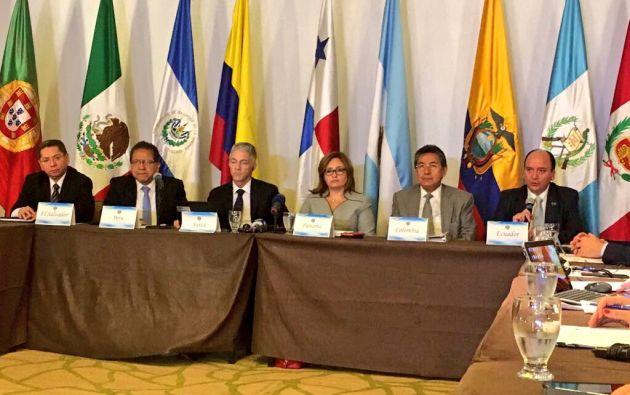 """Los fiscales tratarán """"en una plenaria la investigación de Odebrecht"""", tras lo cual los fiscales sostendrán reuniones bilaterales. Foto: Fiscalía"""