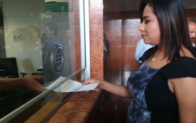 """Cruz manifestó que no se va """"a permitir que bajo la inmunidad parlamentaria, el asambleísta Espinosa no responda al país"""". Foto: Twitter"""