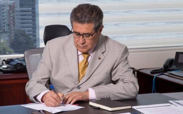 Byron Ojeda presentó su renuncia como gerente de Petroecuador, cargo que venía desempeñando desde junio de este año. Foto: El Ciudadano