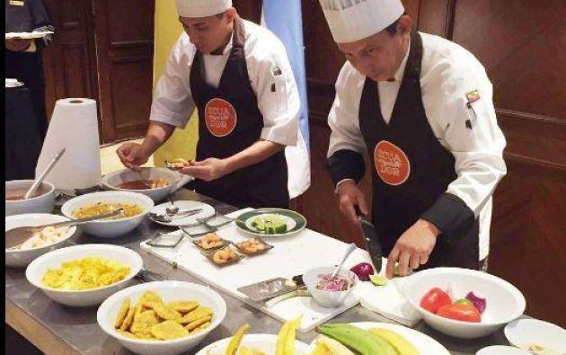 La ruta se sustentará en el chocolate, alimento estrella de la gastronomía ecuatoriana. Foto: Andes