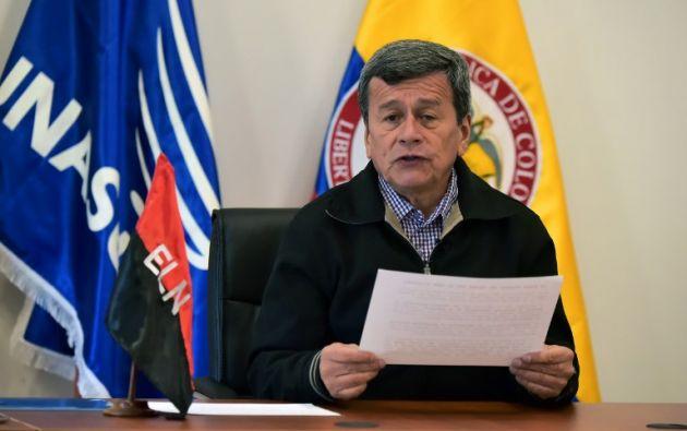 """El cese al fuego, vigente desde el 1 de octubre con una duración inicial de tres meses, arroja un """"pobre balance"""" en el primer mes, dijo Pablo Beltrán. Foto: AFP"""