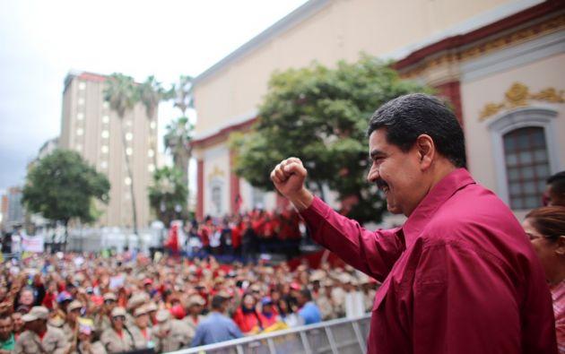 La polémica ley fue expresamente solicitada por el presidente, Nicolás Maduro a la Constituyente oficialista. Foto: Reuters