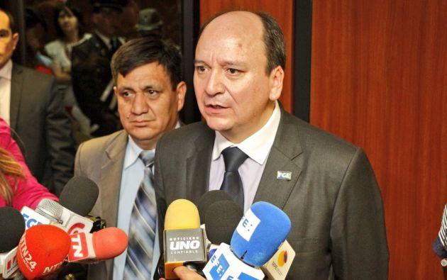"""""""Nuestro trabajo es la lucha frontal contra la corrupción', afirmó el Fiscal. Foto: Fiscalía"""