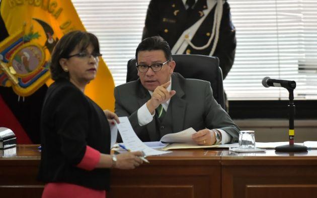El sustento para la acusación de juicio que presentará la Fiscalía será a través de pruebas documentales, periciales y testimoniales. Foto: AFP