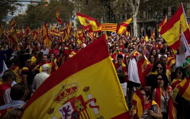 """La manifestación empieza a las 17H00 (16H00 GMT) bajo el lema """"libertad presos políticos"""". Foto: Reuters"""