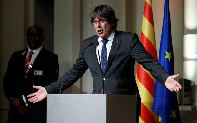 """""""Estoy dispuesto y siempre he estado dispuesto a aceptar la realidad de otra relación con España"""", declaró el expresidente catalán. Foto: Reuters"""