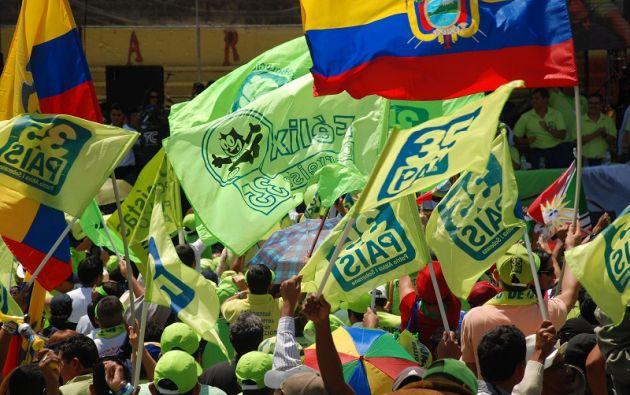 El exmandatario Correa participará en la convención nacional del movimiento. Foto: archivo
