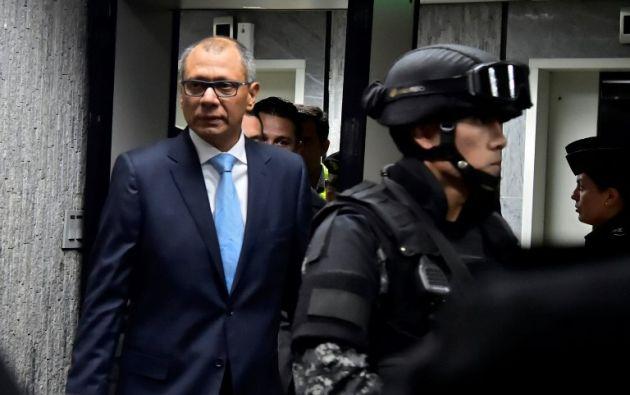 Tras concluir la primera etapa del juicio, Baca Mancheno recalcó que la Fiscalía rechaza cualquier intención de dilatación del proceso. Foto: AFP