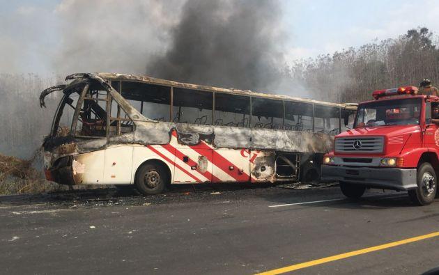 Según información de las unidades en el sitio, no se registraron pérdidas humanas ni personas heridas, solo daños materiales. Foto: ECU911