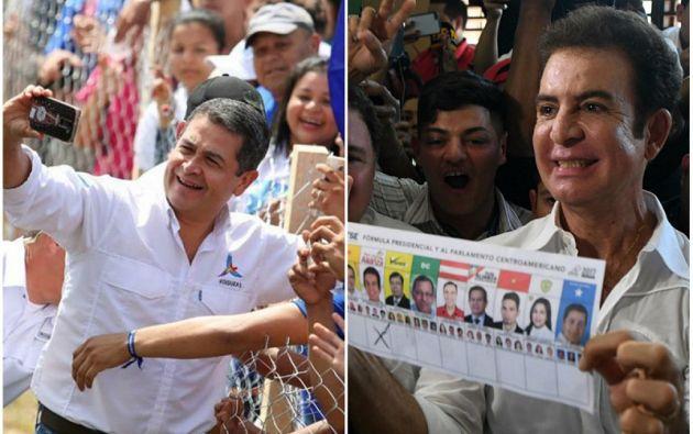 Las elecciones terminaron con un ambiente de mucha expectación por el silencio del TSE y la declaración de Hernández y Nasralla de que las habían ganado. Foto: El Espectador
