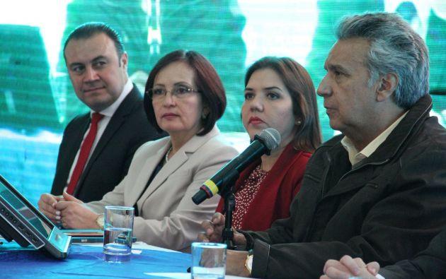 El plan está conformado por tres ejes y nueve objetivos nacionales. Foto: Presidencia