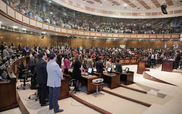En la sesión del 28 de noviembre, el pleno de la Asamblea por mayoría aprobó ambos proyectos enviados por el Ejecutivo. Foto: Asamblea