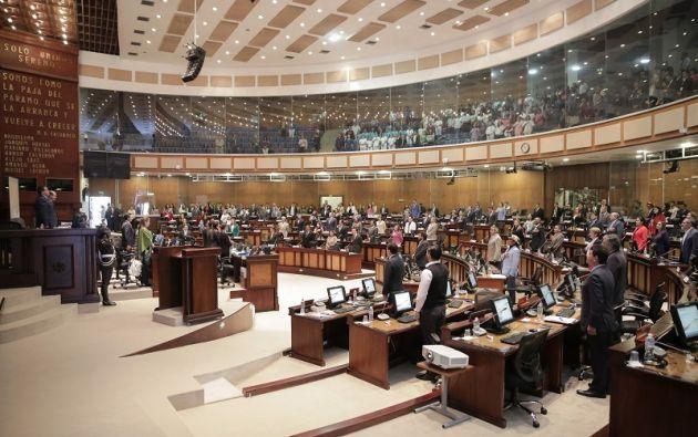 El análisis se inició en la sesión del 28 de noviembre, en la que intervinieron 13 asambleístas. Foto: Asamblea